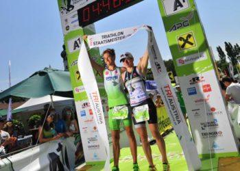 Fürnkranz und Steger Sieger beim Trumer Triathlon und sichern sich die Staatsmeistertitel 4