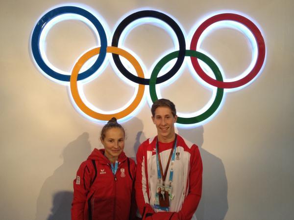 Skardelly und Horwarth jagen YOG Medaille 1