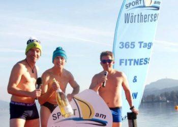 Neujahrsschwimmen in Velden 2