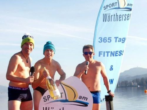 Neujahrsschwimmen in Velden 1