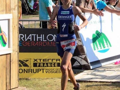 Carina Wasle Zweite bei XTERRA France 1