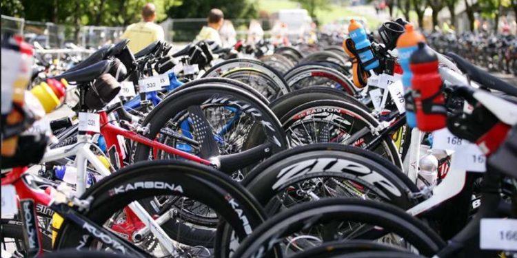 Neue Radständer für Mostiman Triathlon 1
