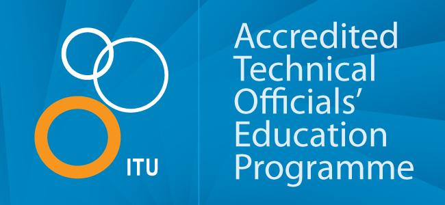 ITU Zertifizierung für ÖTRV Wettkampfrichter Ausbildung 1