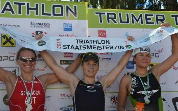 Slavinec neue Triathlon Staatsmeisterin 1
