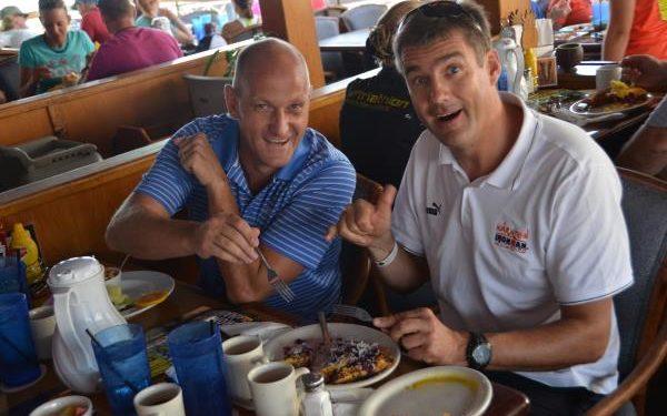 Tolles Österreicher Frühstück beim IRONMAN Hawaii 1