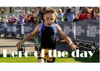 Triathlon mit Kinderlähmung: Bailey läuft ins Ziel! 4