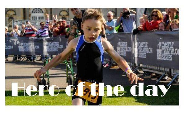 Triathlon mit Kinderlähmung: Bailey läuft ins Ziel! 1