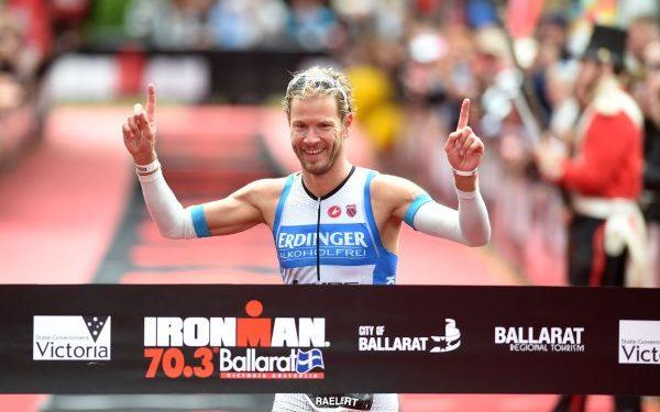 Michael Raelert beim Linz Triathlon am Start 1