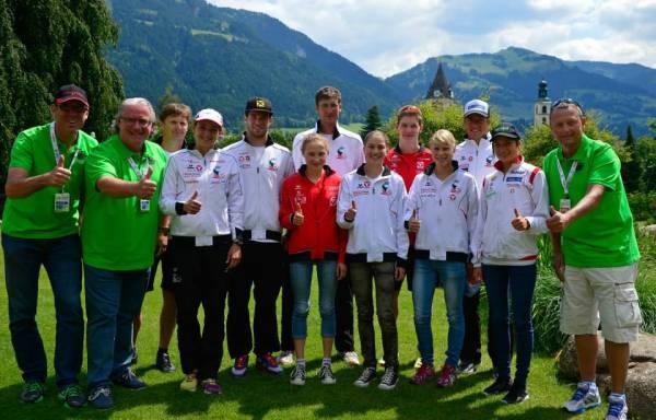 Athleten fiebern den Bewerben in Kitzbühel entgegen 1