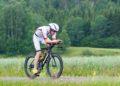 Martin Bader beim Trans Vorarlberg Triathlon