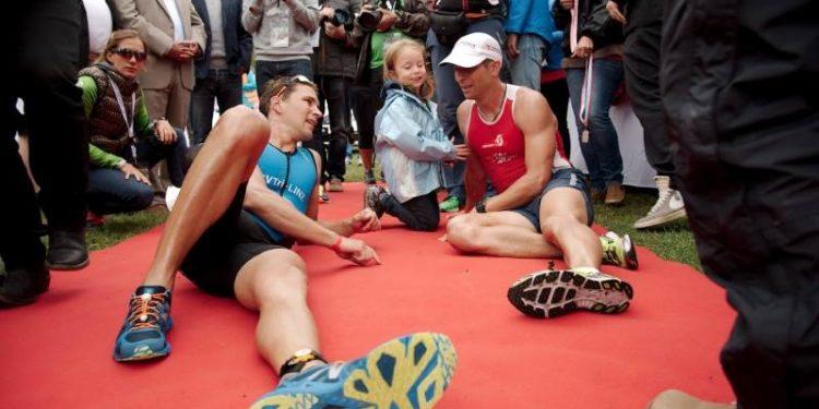 Das familiäre Umfeld zeichnet den Austria Triathlon in Podersdorf aus.