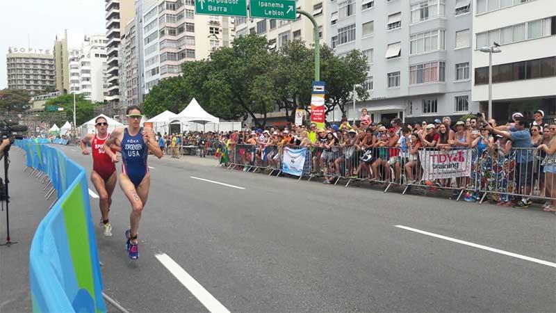 Jorgensen gewinnt spannenden Olympischen Triathlon in Rio 1