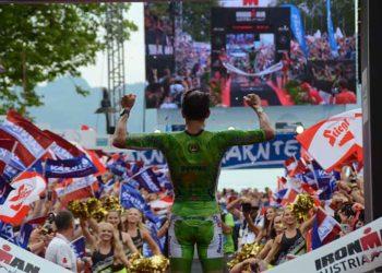 Marino Vanhoenacker gewinnt seinen achten IRONMAN Austria