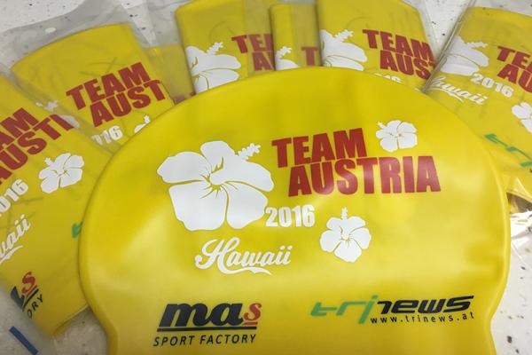 IRONMAN Hawaii Badekappen für alle Österreicher 3
