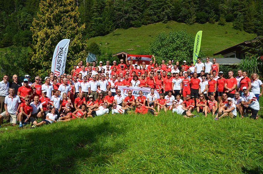 Das Age Group Team bei der Challenge Walchsee-Kaiserwinkl