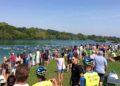 Tolles Ambiente bei der Premiere des Fittest City Sprint Triathlons in St. Pölten
