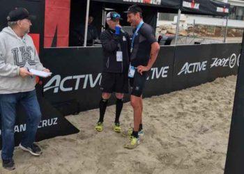 Siegerinterview mit Michael Weiss beim IRONMAN 70.3 Santa Cruz | Photo privat