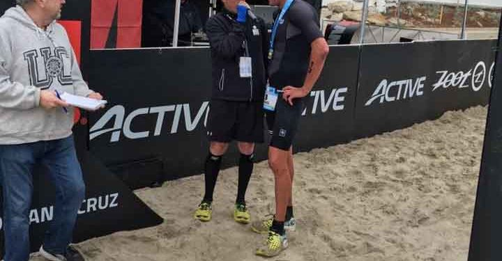Siegerinterview mit Michael Weiss beim IRONMAN 70.3 Santa Cruz | Photo privat