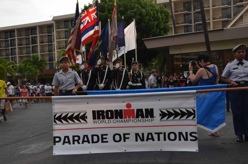 IRONMAN Hawaii 2016: Parade der Nationen