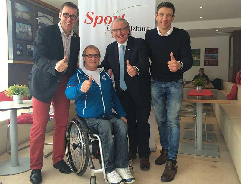 Salzburg erhält einen Triathlon Stützpunkt 1