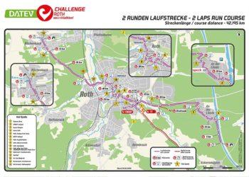 Die neue Laufstrecke der Challenge Roth im Detail