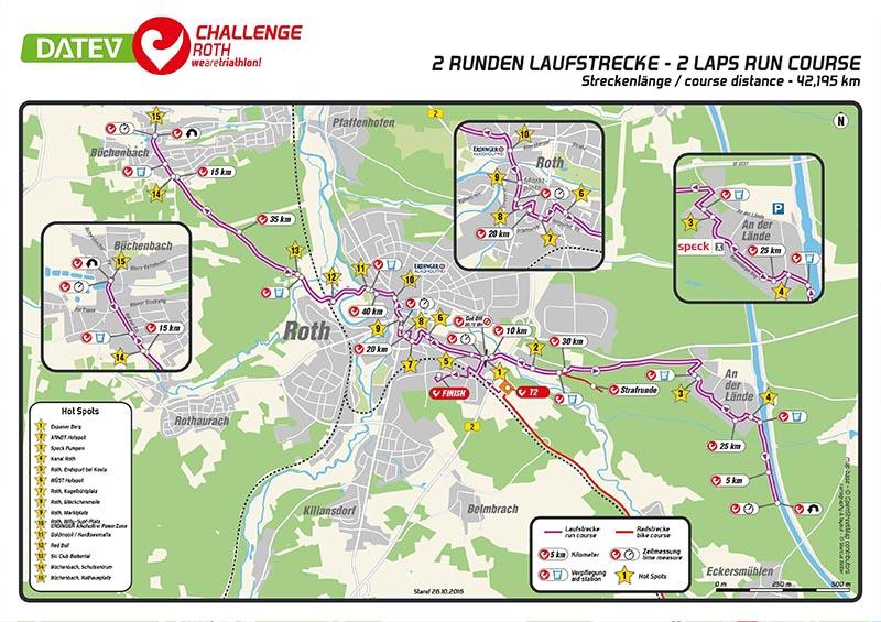 Challenge Roth mit neuer Laufstrecke 1
