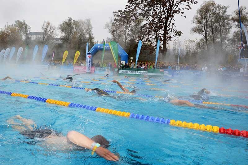 Rekordergebnis bei 24 Stunden Schwimmen in Bad Radkersburg 1