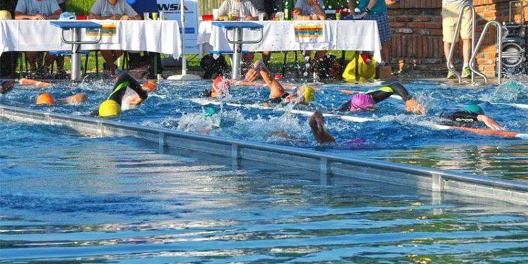 Auftaktdisziplin beim Ultra Triathlon in Bad Blumau