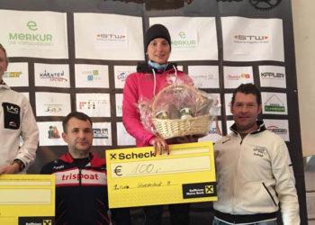 Sieg von Lisa Perterer beim Silvesterlauf in Klagenfurt