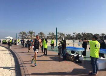 Laufstrecke des IRONMAN 70.3 Dubai
