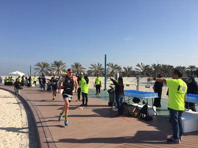 Ruttmann bei IRONMAN 70.3 Dubai auf Rang 15 5