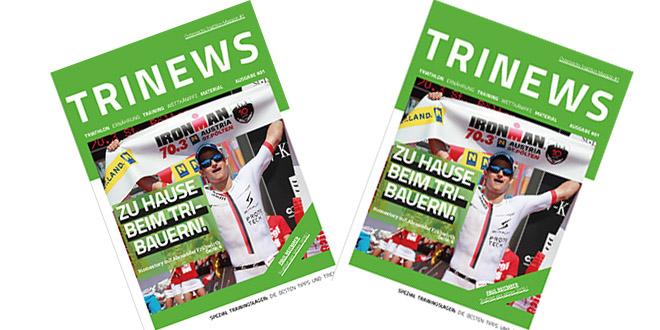 Trinews launcht Österreichisches Triathlon Printmagazin 1