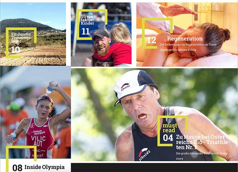 Trinews launcht Österreichisches Triathlon Printmagazin 2