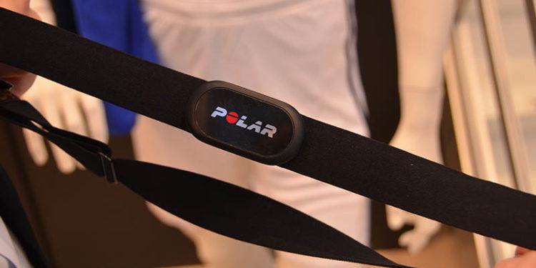 Der neue Pulsgurt Polar A10 speichert Trainingsdaten