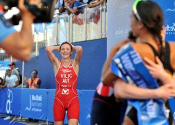 Sara Vilic konnte es kaum fassen - das Rennen ihres Lebens!