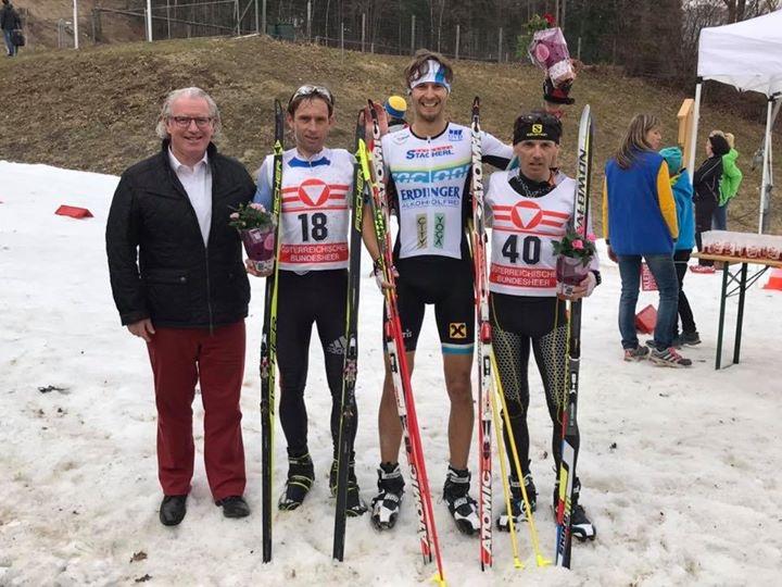 Slavinec und Schlagbauer Wintertriathlon Staatsmeister 2017 1