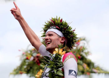 Jan Frodeno bei seinem zweiten Sieg bei den IRONMAN World Championship | by Getty Images for Ironman