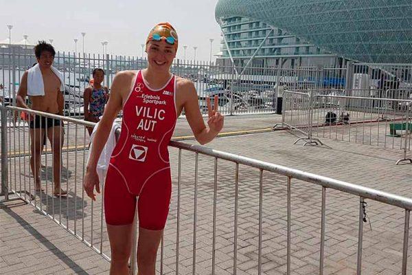 Sensationell! Vilic holt World Triathlon Serie Podestplatz 9