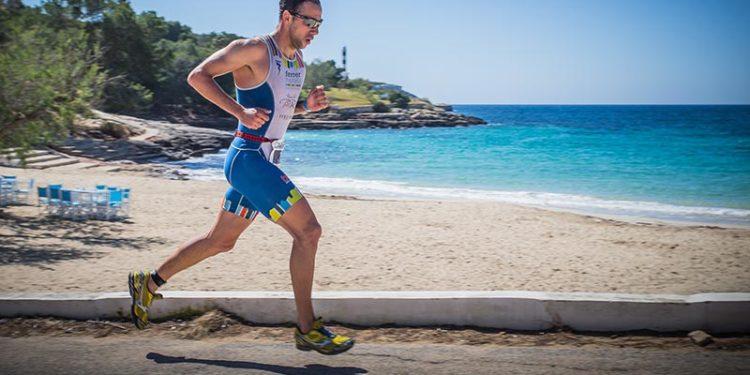 Traumhafte Laufstrecke beim Triathlon Portocolom