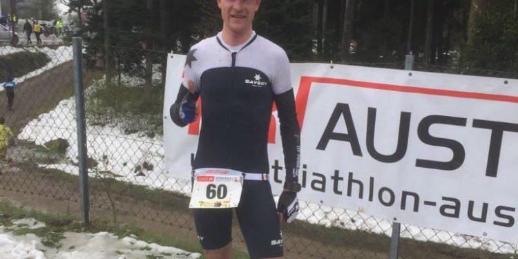 Christian Tortorolo gewinnt den Duathlon in Rohrbach 2017. | Photo: ÖTRV