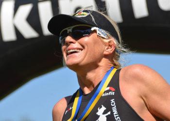 Start-Ziel Sieg von Yvonne Van Vlerken in Ober-Grafendorf 2017