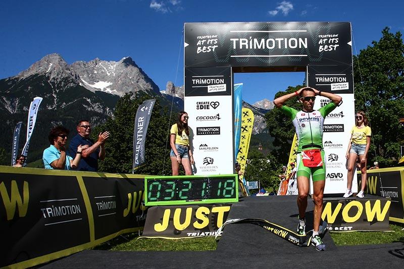 Marino Vanhoenacker gewinnt Trimotion Saalfelden mit Streckenrekord 1