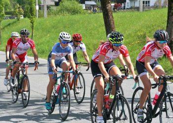 Die Junioren haben schon die Strecken für die Triathlon Europameisterschaft in Kitzbühel besichtigt.