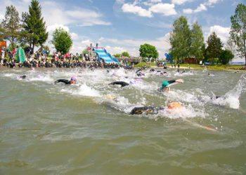 Tolle Atmosphäre beim Triathlon in Großsteinbach