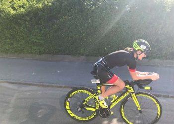 Tolle Radstrecke beim Klosterneuburg Triathlon Photo: Martina Albrecht