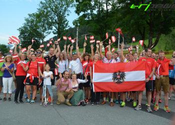 Das größte Österreichische Age Group Team bei Europameisterschaften! Viel Erfolg allen Athleten