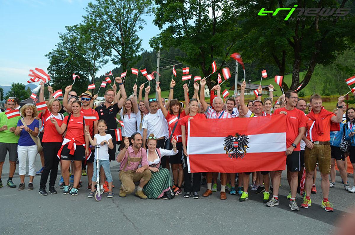 Das größte ÖTRV Age Group Team Aufgebot in Kitzbühel