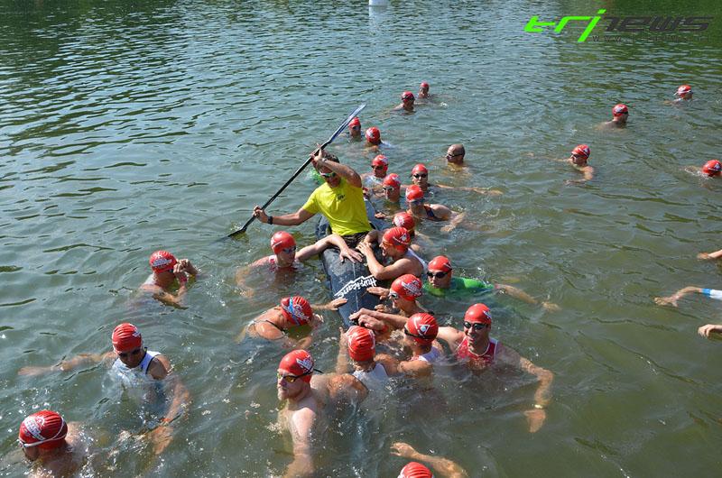 Erfolgreiche Paratriathlon Premiere beim Tulln Triathlon 1
