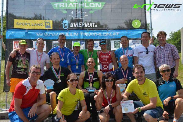 Erfolgreiche Paratriathlon Premiere beim Tulln Triathlon 5