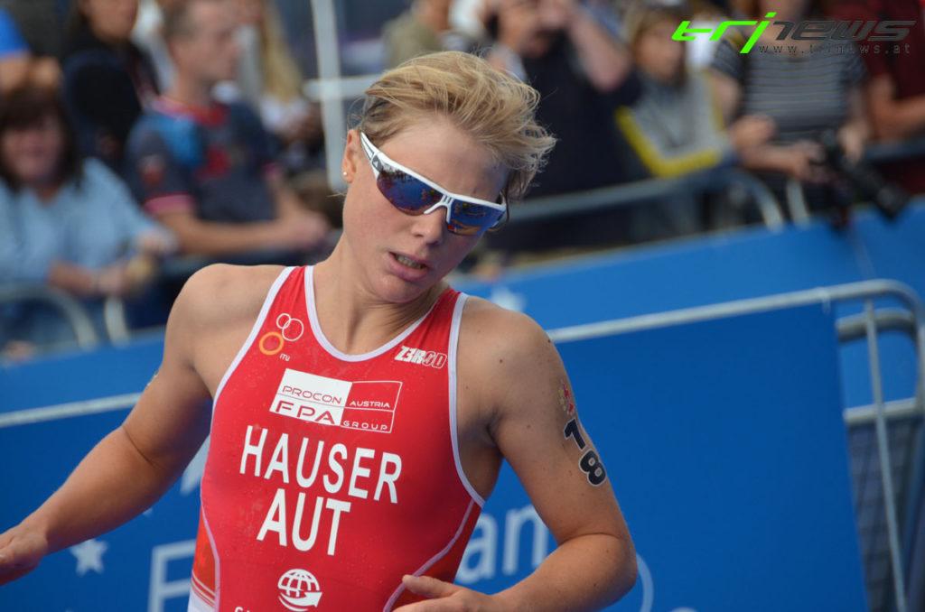 Hauser bei Triathlon EM in Top 10 1